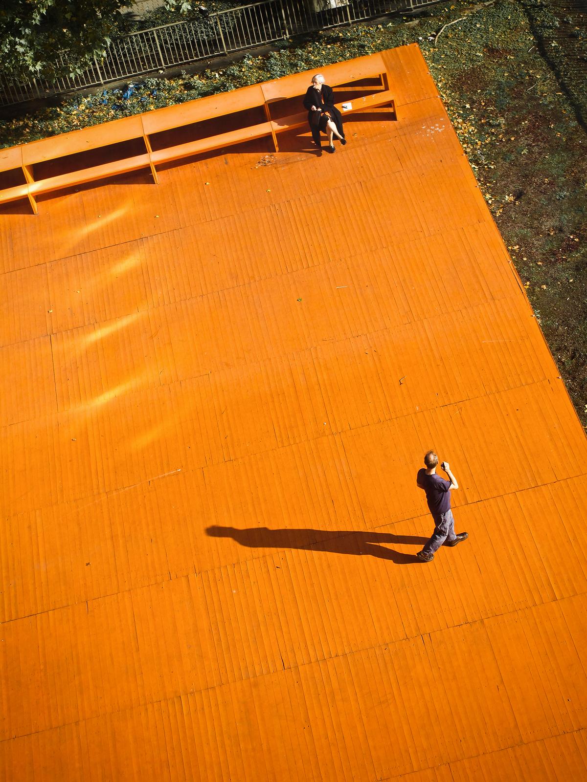 Orange Terrasse